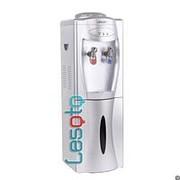 Напольный кулер с холодильником LESOTO 111 L-B silver фото