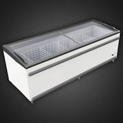 Морозильные лари-бонеты BODRUM UMD с раздвижной крышкой из гнутого стекла BODRUM 2500 FR фото