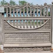 Бетонные декоративные изделия (Забор, Блок-стойка, Накрывки, Стойка). фото