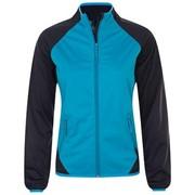 Куртка софтшелл женская ROLLINGS WOMEN бирюзовая с темно-синим, размер XL фото