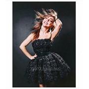 Вечернее платье Olik&Kate, черное фото