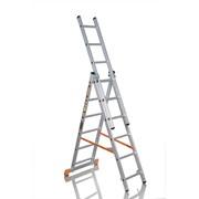 Лестница трехсекционная 3x6 артикул ТЛ3х6 фото