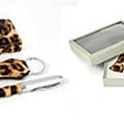 Подарочный набор: визитница, ручка, брелок . 140307 фото