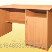 Стол письменный, 1-дверный, тумба справа , 4141 фото
