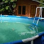 Строительство сборно-разборных бассейнов фото