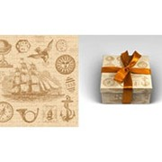 "Упаковочная бумага Миленд ""Винтаж"", 1 лист, 70 х 100 см., 90 г/м2, 10-05-0001 фото"