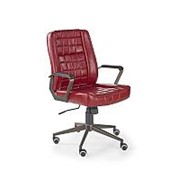 Кресло компьютерное Halmar WINDSOR (бордовый) фото