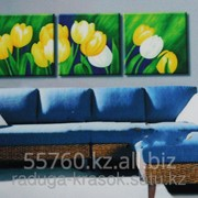 Картина по номерам Желтые тюльпаны фото