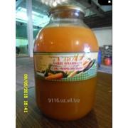 Соки натуральные морковный текло банка (1 и 3 литровая) фото