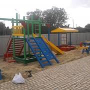 Детские спортивные площадки фото