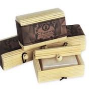 Солевой дезодорант Chandi в бамбуковой коробке фото