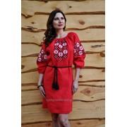 Платье с вышивкой П05-261 фото