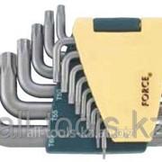 Набор ключей Torx с отверстием - 15пр Код:5151T фото