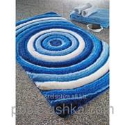 Коврик для ванной Confetti - Efesus 60х100 см Голубой фото