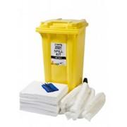 Нефтяной аварийный набор 240л Black&White Oil Spill kit, абсорбент, набор для ликвидации разливов фото