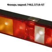 Фонарь задний 7462.3716-07, правый, со светоотражающим устройством и байонетным разъемом фото
