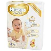 Подгузники Huggies Elite Soft №3 (5-9 кг) 80 шт. фото