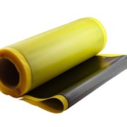 Резина для защиты от износа. Ширина 2000 мм. Толщина 6 мм. Red 45 Sh, CN фото