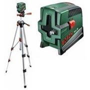 Линейный лазерный нивелир Bosch PCL 20+штатив фото