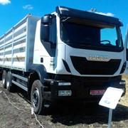 Автопоезд-зерновоз , Кузов V- 75 м3 на базе IVECO Trakker фото
