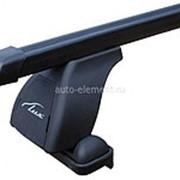 Багажник на крышу Лада Гранта (Lada Granta) седан 2011-, стальные поперечины Lux. фото