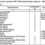 Монтажный комплект Северс М, № 1005 Kia Sorento 2010 г.в., с дв. G4KE (2,4 л), МКПП фото