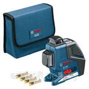 Линейный лазерный нивелир GLL 3-80 P Professional + вкладка под L-BOXX фото