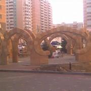 Ансамбль декоративный из бетона фото