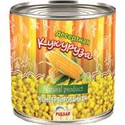Кукуруза сладкая консервированная 400гр. фото