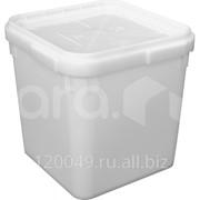Куботейнер 23 литра с крышкой Арт.КБ 23-1 фото