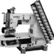 12-ти игольная швейная машина Gemsy GEM 008-12 фото