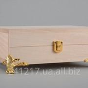 Деревянная шкатулка-заготовка под кракелюр №416853150 фото
