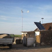 Гибридная , ветро солнечная электростанция 1 KW фото