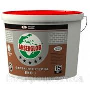 Краска интерьерная акриловая ANSERGLOB ЭКО+ ( Ансерглоб ) 15 кг фото