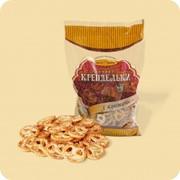 Печенье Крендельки С кунжутом фото