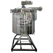 Вакуумный реактор для технологической обработки пастообразных продуктов парфюмерно-косметической промышленностей. фото