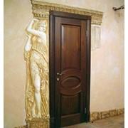 Обрамление двери фото