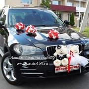Черная БМВ Х5 на свадьбу фото