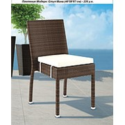Мебель для баз отдыха , стул МИНА - Модерн - искусственный ротанг - для сада, дома, гостиницы, ресторана фото