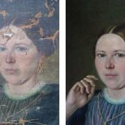Реставрация картины фото