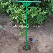 Садовый бур ручной со съемными фрезами 150 и 200 мм фото