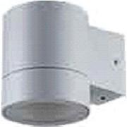 Ecola 8003A св-к влагозащ.прозр.цилиндр металл.серый матовый IP65 1*GX53 114х140х90мм FG53C1ECH фото