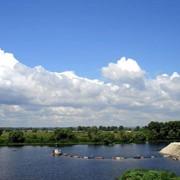 Очистка водоемов, рек, прудов, удаление ила, мини земснаряд, купить, цена, Киев фото