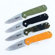 Нож Ganzo G6801 (черный, зеленый, оранжевый, хаки) фото