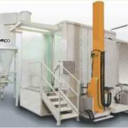 Промышленные установки для порошковой и жидкостной окраски фото