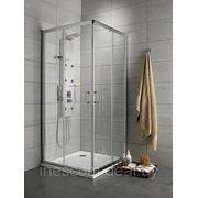 Душевая кабина Radaway Premium Plus C (100х100х190 см.) Стекло: графитовое, фабрик фото