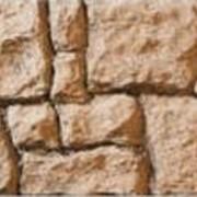 Плиты фасадные `Бутовый камень` фото