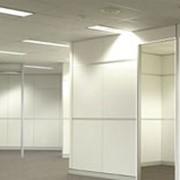 Изготовление офисных перегородок из алюминия фото
