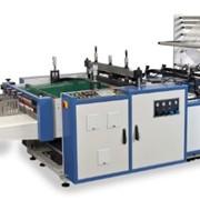 Автоматическая линия для производства пакетов с вклеивающимися ручками, модель «WT 850 GP» СИСТЕМА WICKET фото