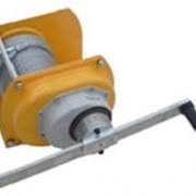 Лебедка ручная усиленная LRU (канат) (3000 кг.) фото